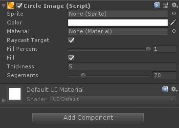 Unity3D UGUI:圆形Image组件,可用来制作头像 - 第1张  | 大腿Plus