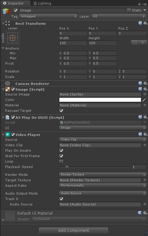 Unity3D:用VideoPlayer在UGUI上播放视频 - 第1张  | 大腿Plus
