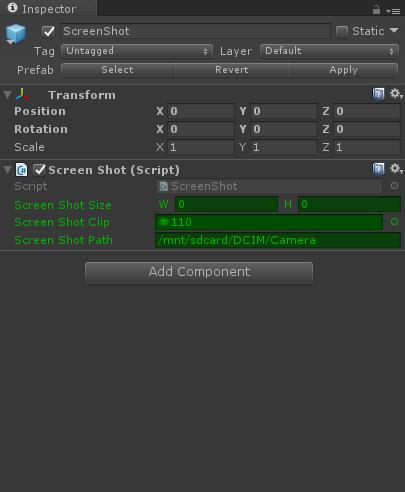 Unity3D插件:模仿手机截屏效果的截屏插件 - 第1张  | 大腿Plus