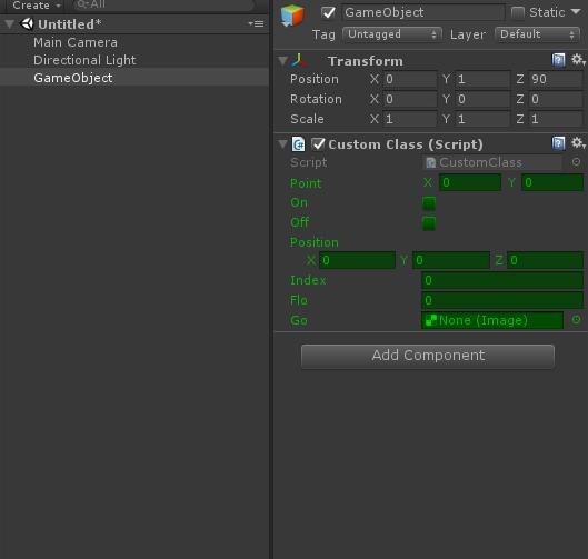 Unity3D编辑器:自定义Inspector属性面板显示效果 - 第2张    大腿Plus